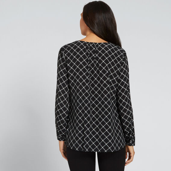 Diamond Print Blouse  DIAMOND PRINT  hi-res