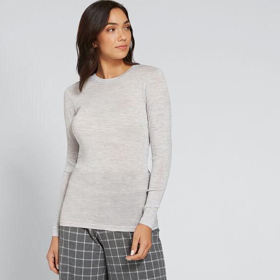 Babywool Layering Sweater  LIGHT ASH MARLE  hi-res
