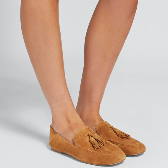 Bella Tassel Loafer  TAN  hi-res