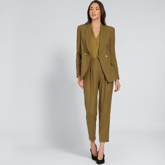 Tailored Blazer  DARK KHAKI  hi-res
