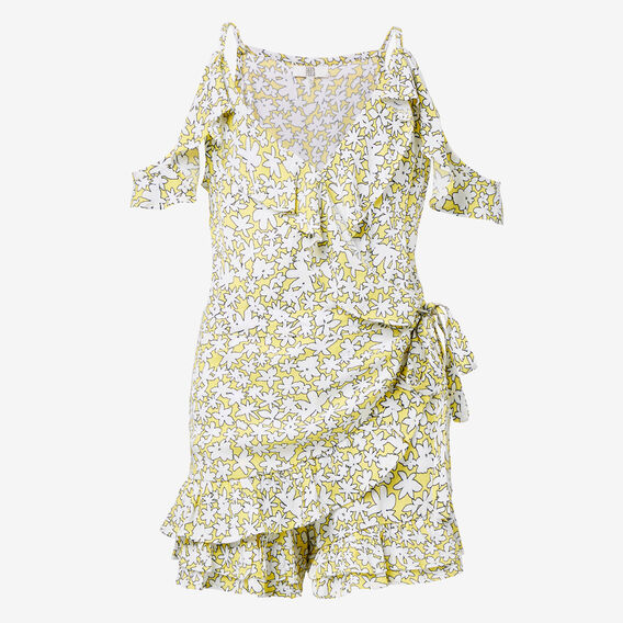 Floral Frill Playsuit  SUNSHINE  hi-res