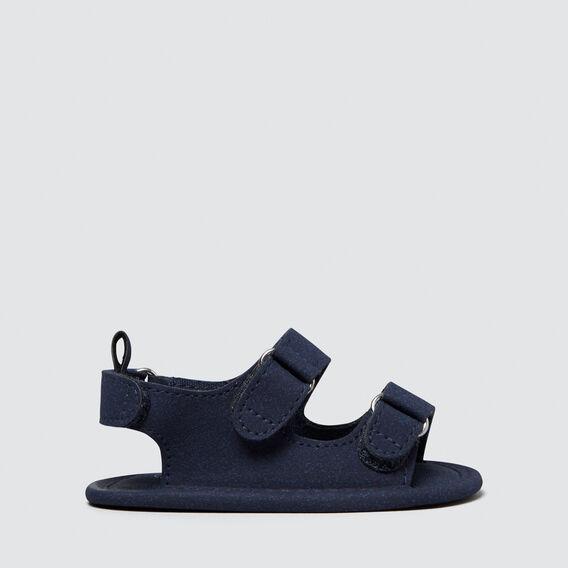 Baby Simple Sandal  NAVY  hi-res