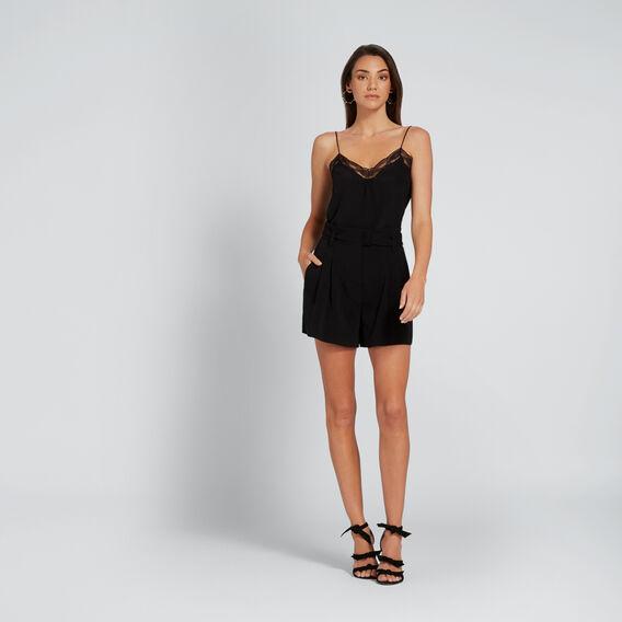 Lace Cami  BLACK  hi-res