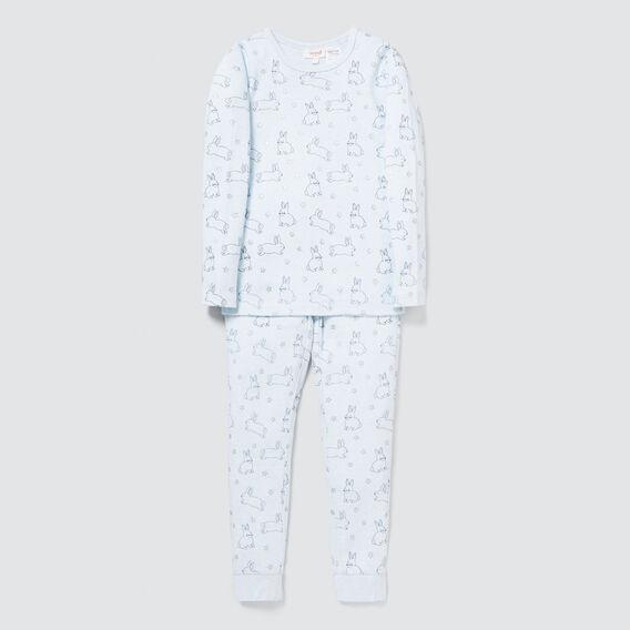 Star Bunny Pyjama  BLUE MARLE  hi-res
