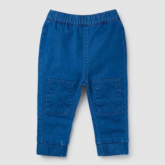 Terry Patch Jean  BRIGHT INDIGO  hi-res