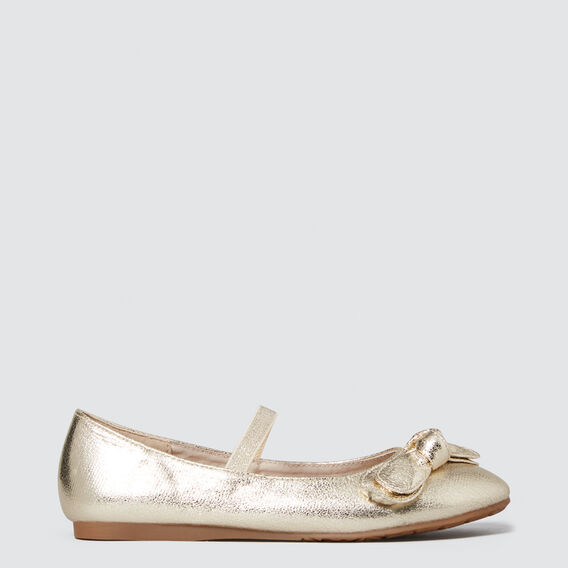 Party Ballet Flats  GOLD  hi-res