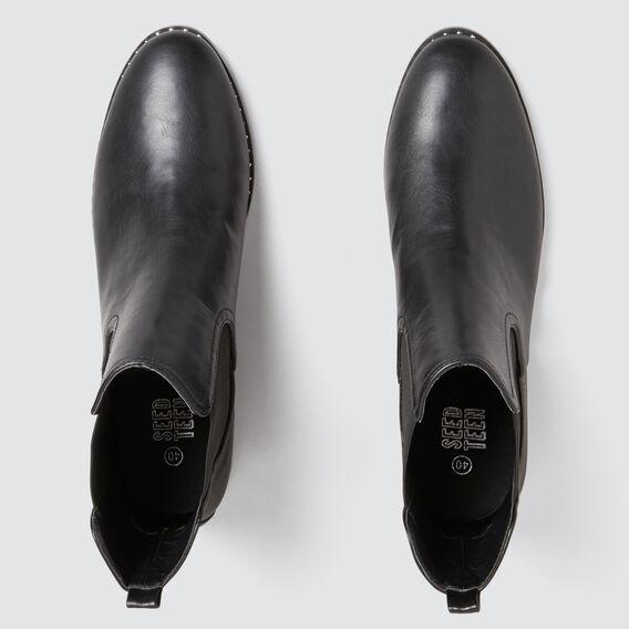 Studded Boots  BLACK  hi-res