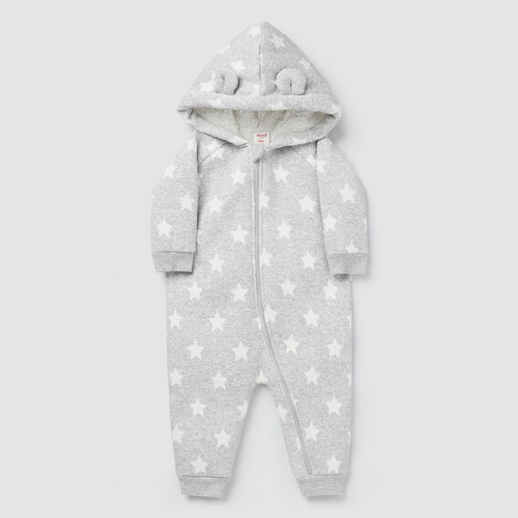 Star Sherpa Jumpsuit  BIRCH MARLE  hi-res