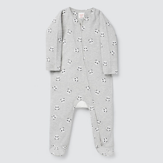 Novelty Panda Zipsuit- Available in 00000  BIRCH MARLE  hi-res