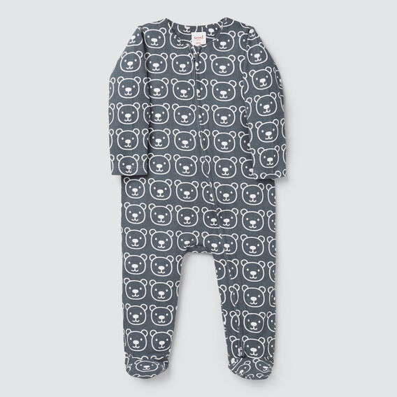 Bear Yardage Zipsuit- Available in 00000  CHARCOAL  hi-res