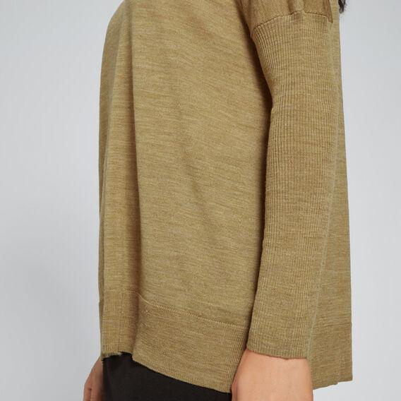 Babywool Comfy Sweater  DARK KHAKI MARLE  hi-res