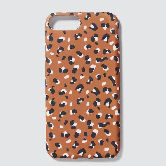 Animal Print Phone Case 6+/7+/8+  TAN ANIMAL  hi-res