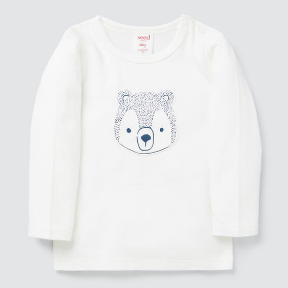 Spotty Bear Tee  CANVAS  hi-res
