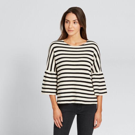 Stripey Tee  BLACK/WINTER OAK  hi-res