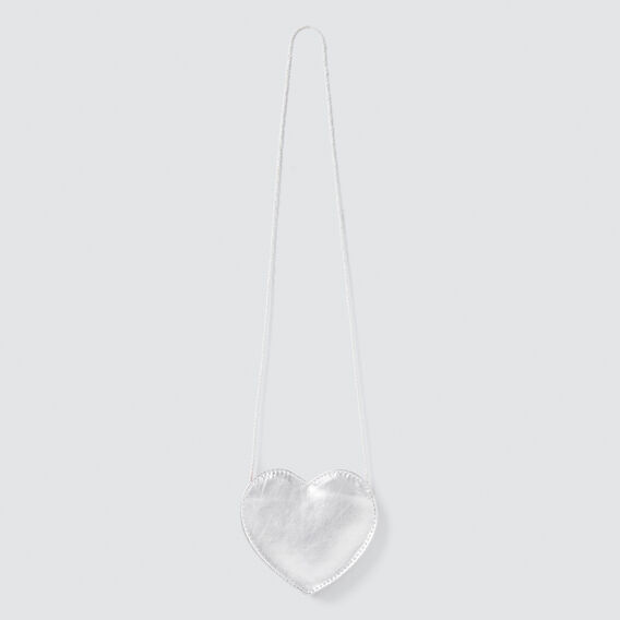 Little Heart Purse  SILVER  hi-res