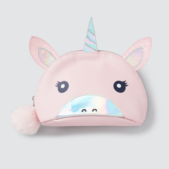 Unicorn Pom Pom Case  ICE PINK  hi-res
