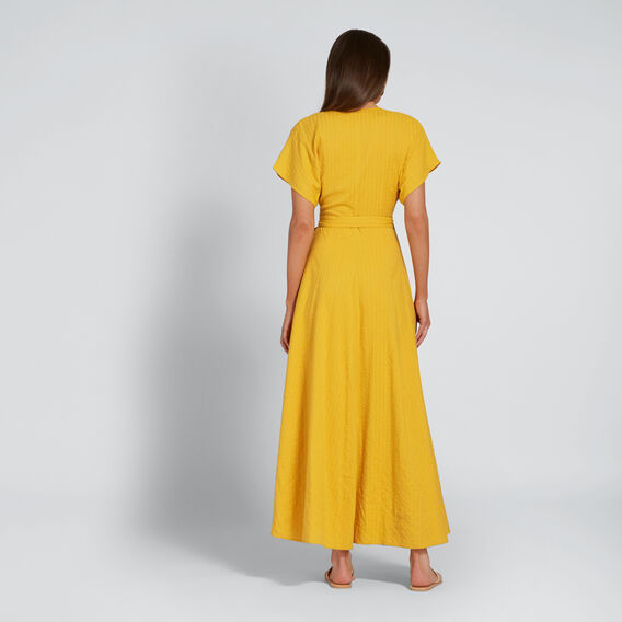 Self Stripe Maxi  AMBER YELLOW  hi-res
