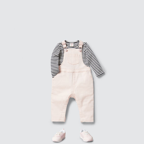Denim Dungaree  ICE PINK  hi-res