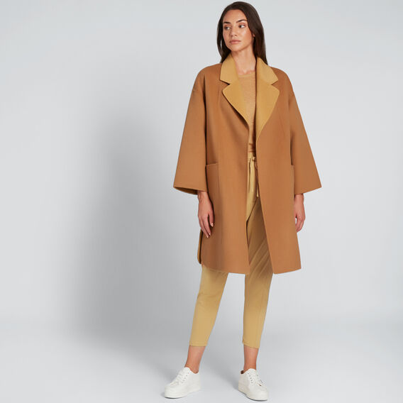 Two Tone Coat  VINTAGE BRONZE/TAN  hi-res