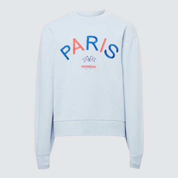 Embroidered Windcheater  BABY BLUE  hi-res