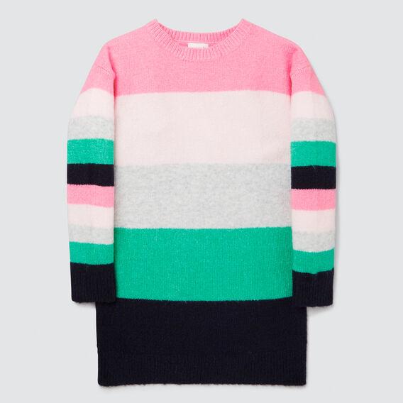 Stripe Knit Dress  MULTI  hi-res