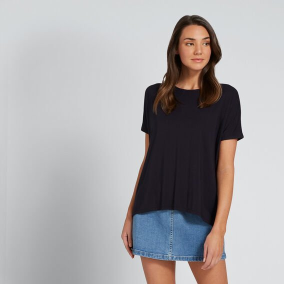 Relaxed Tee  DEEP NAVY  hi-res