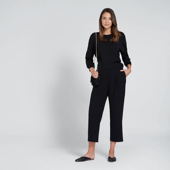 Side Buckle Pant  BLACK  hi-res