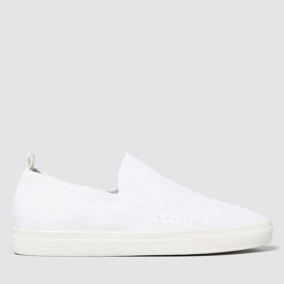 Charlie Slip-On Sneaker  WHITE  hi-res