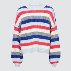 Stripe Sweater  MULTI  hi-res