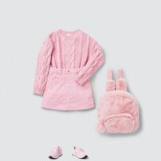 Cable Sweater  BUBBLEGUM  hi-res