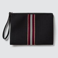 Zip Clutch  BLACK  hi-res