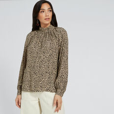 Animal Blouse  ANIMAL PRINT  hi-res