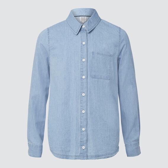 Chambray Shirt  BLUE CHAMBRAY  hi-res