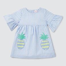 Pineapple Pocket Dress  CORNFLOWER  hi-res