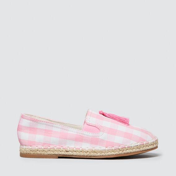 Pink Gingham Espadrille  PINK  hi-res