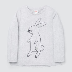 Bunny Long Sleeve Tee  CLOUD  hi-res