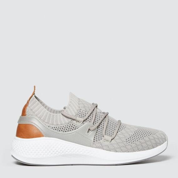 Jessie Knit Sneaker  GREY  hi-res