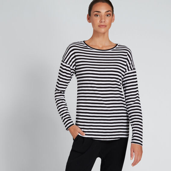 Stripe Tee  BLACK STRIPE  hi-res