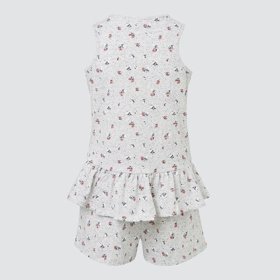 Peplum Pyjama Set  SPECKLE MARLE  hi-res