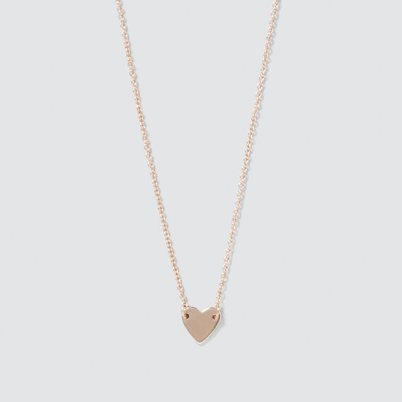 Heart Necklace  ROSE GOLD  hi-res