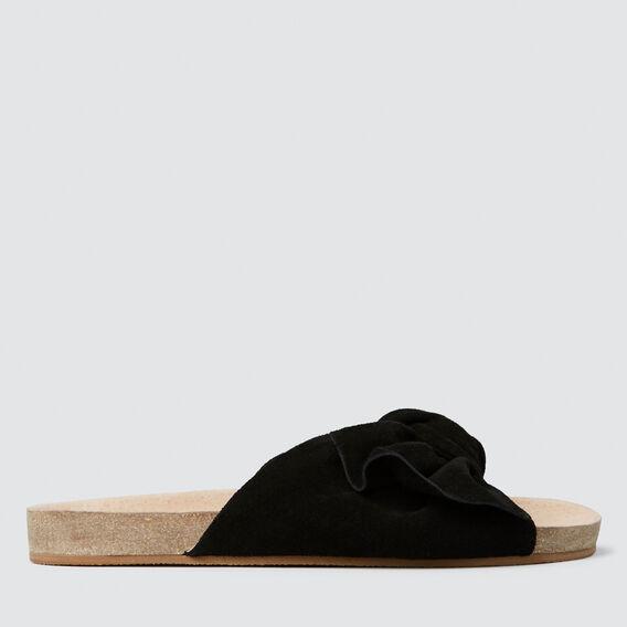 Ariel Bow Slide  BLACK  hi-res