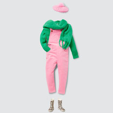 Cord Dungaree  PINK BLUSH  hi-res
