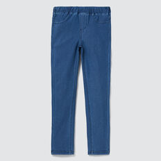 Basic Jegging  MID BLUE WASH  hi-res