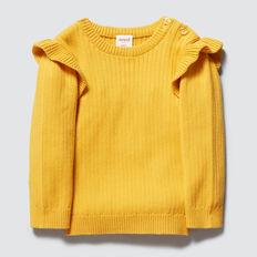 Rib Sweater  SAFFRON  hi-res