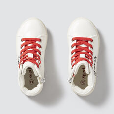 Bonjour Hightop  WHITE  hi-res