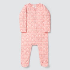 Bear Yardage Zipsuit- Available in 00000  DUSTY PINK  hi-res