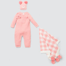 Knit Overall  DUSTY PINK  hi-res
