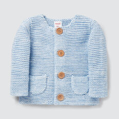 Knit Cardigan  DUSK BLUE  hi-res