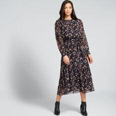 Floral Maxi Dress  FLORAL  hi-res