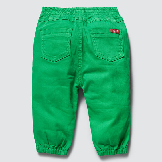 Coloured Denim Jean  RETRO GREEN  hi-res